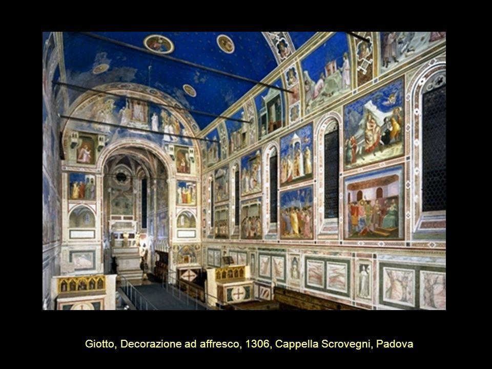 Giotto, Decorazione ad affresco, 1306, Cappella Scrovegni, Padova