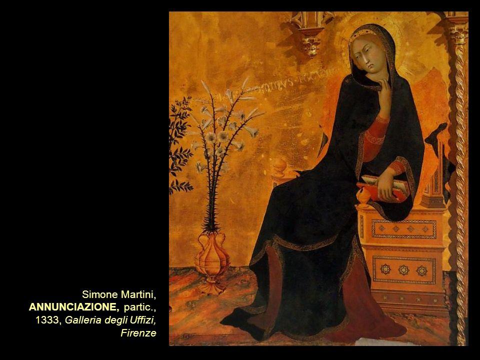 Simone Martini, ANNUNCIAZIONE, partic