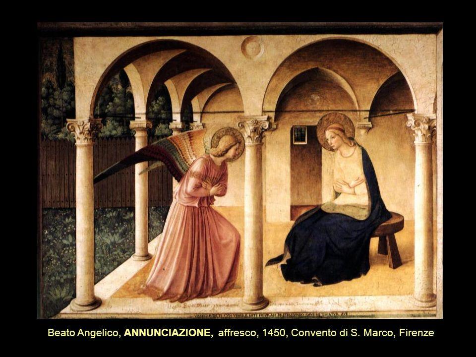 Beato Angelico, ANNUNCIAZIONE, affresco, 1450, Convento di S