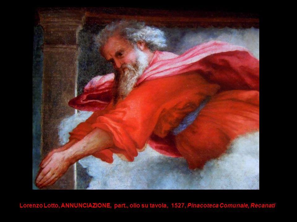 Lorenzo Lotto, ANNUNCIAZIONE, part