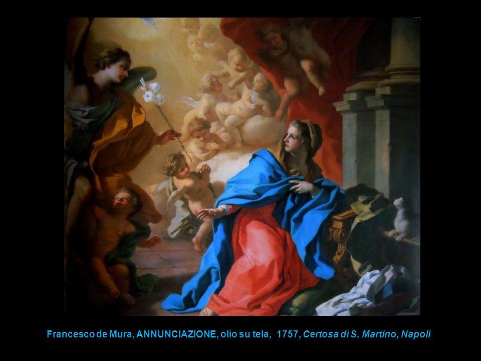 Francesco de Mura, ANNUNCIAZIONE, olio su tela, 1757, Certosa di S