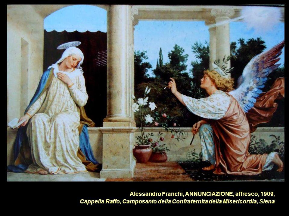 Alessandro Franchi, ANNUNCIAZIONE, affresco, 1909,
