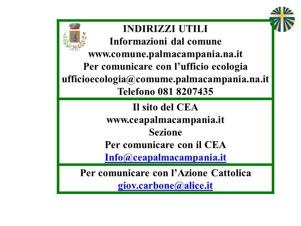 Informazioni dal comune www.comune.palmacampania.na.it
