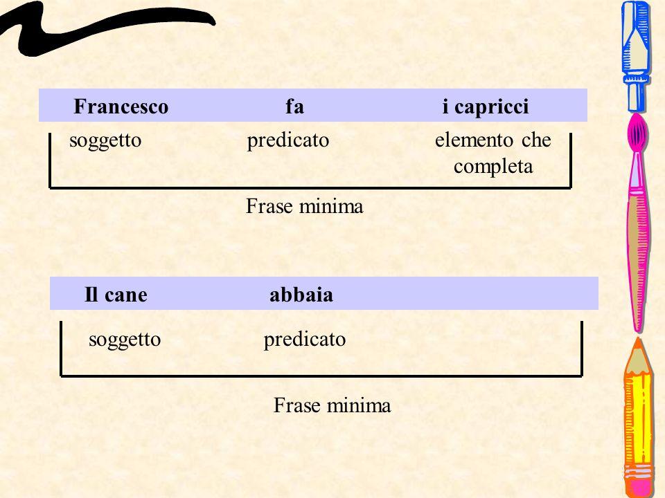 Francesco fa i capricci
