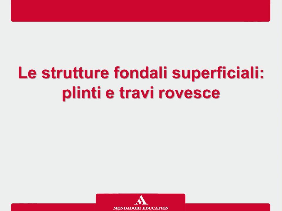 Le strutture fondali superficiali: