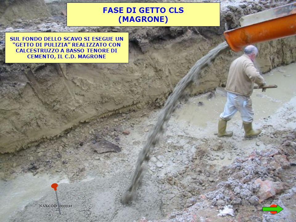 FASE DI GETTO CLS (MAGRONE)