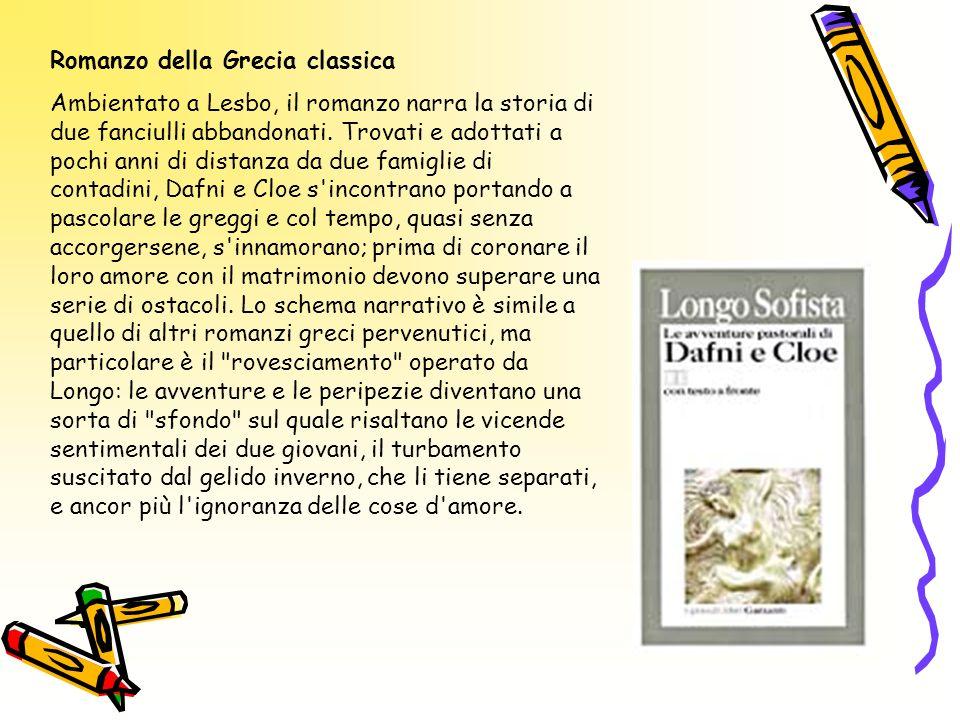 Romanzo della Grecia classica