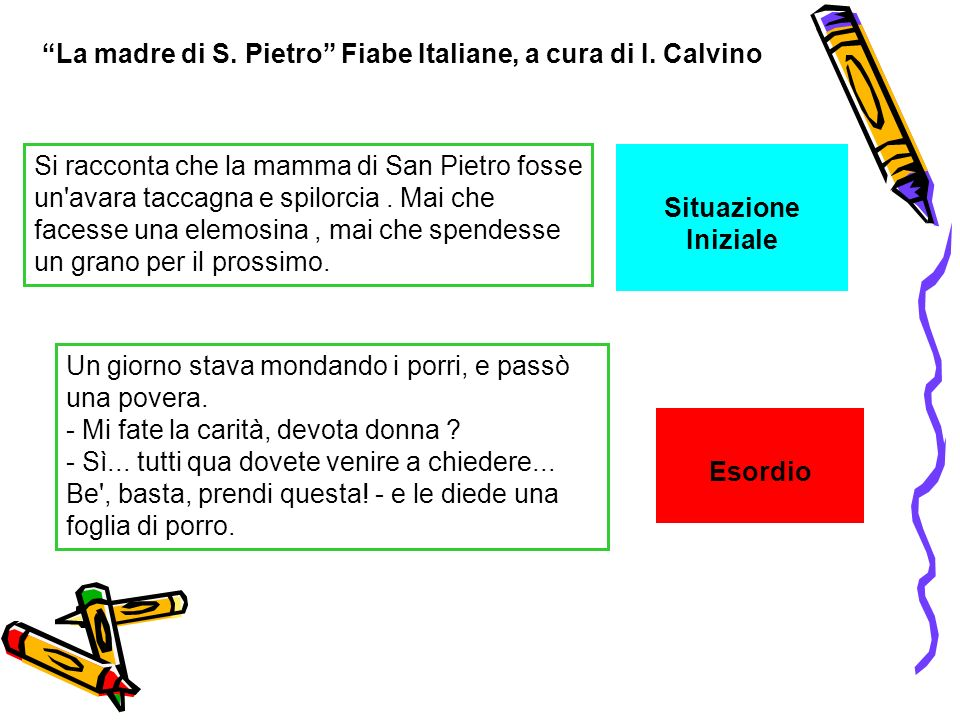 La madre di S. Pietro Fiabe Italiane, a cura di I. Calvino