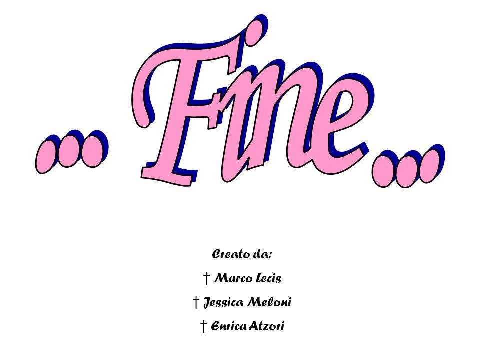 ... Fine ... Creato da: Marco Lecis Jessica Meloni Enrica Atzori