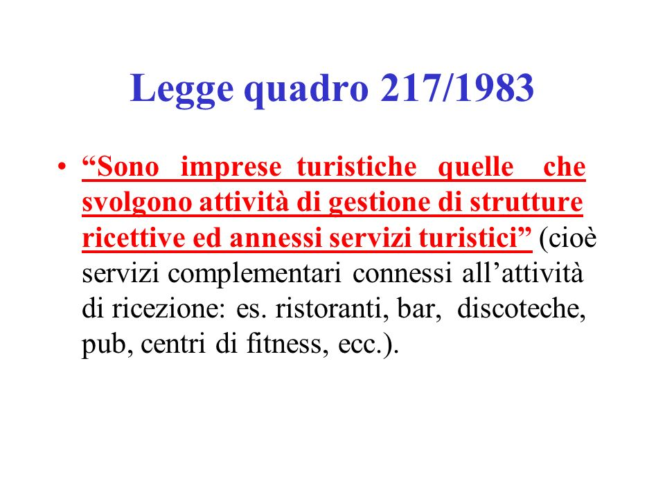Legge quadro 217/1983