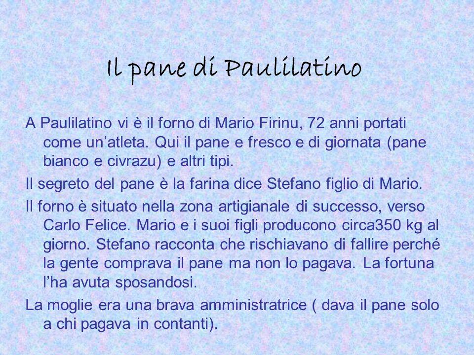 Il pane di Paulilatino