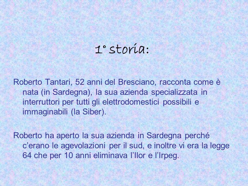 1° storia: