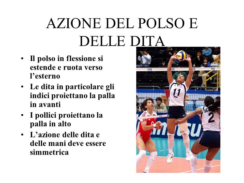 AZIONE DEL POLSO E DELLE DITA