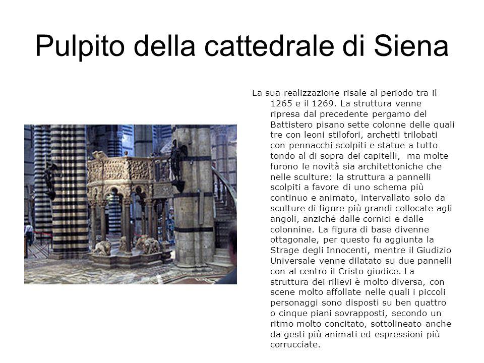 Pulpito della cattedrale di Siena