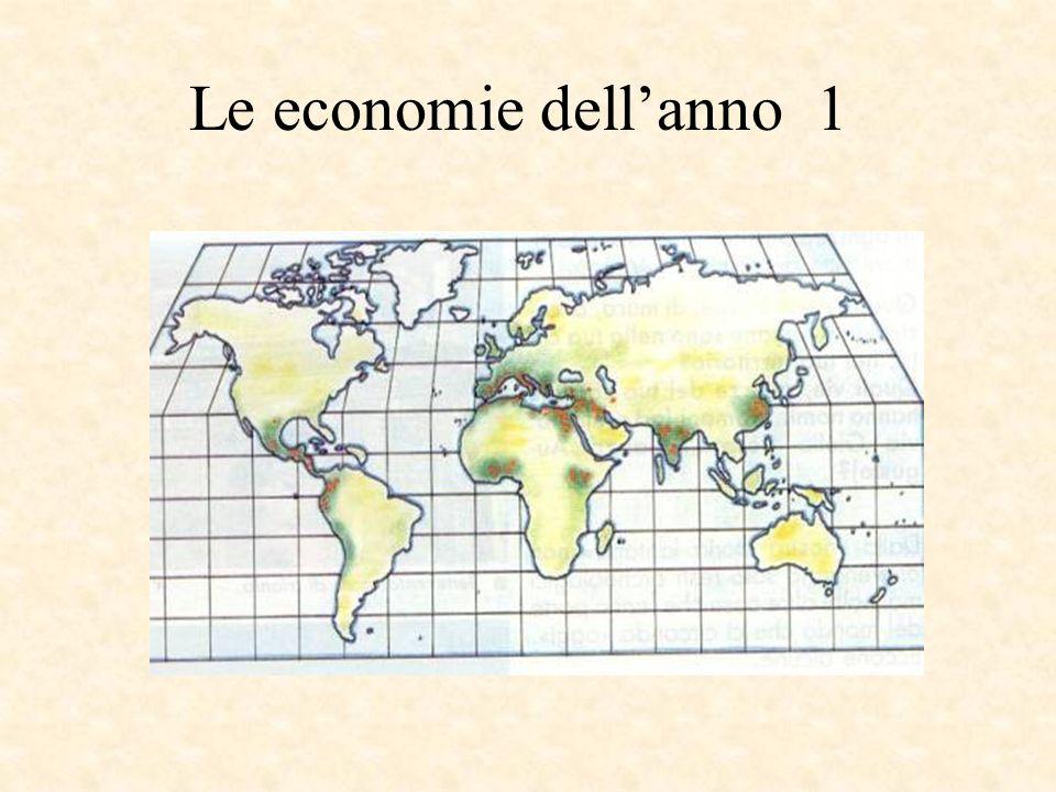 Le economie dell'anno 1