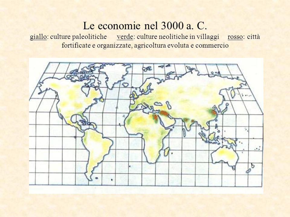 Le economie nel 3000 a.C.