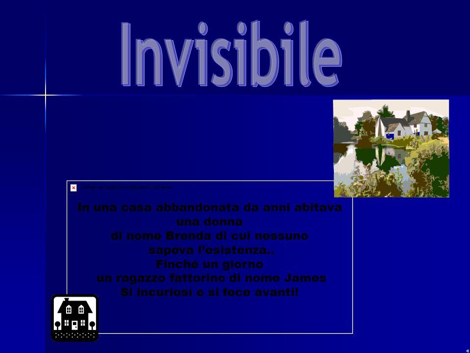Invisibile In una casa abbandonata da anni abitava una donna