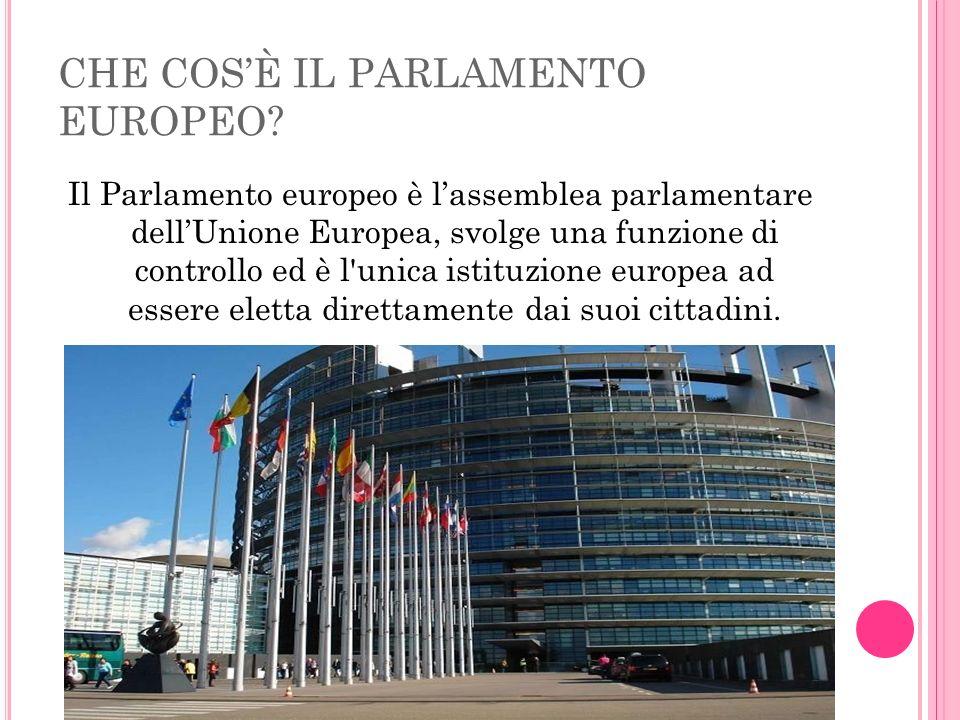 CHE COS'È IL PARLAMENTO EUROPEO