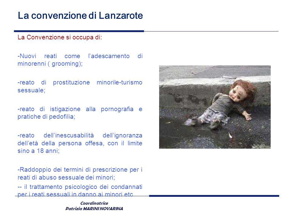 La convenzione di Lanzarote