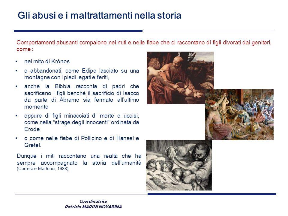 Gli abusi e i maltrattamenti nella storia