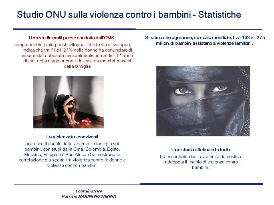 La violenza tra conviventi Uno studio effettuato in India