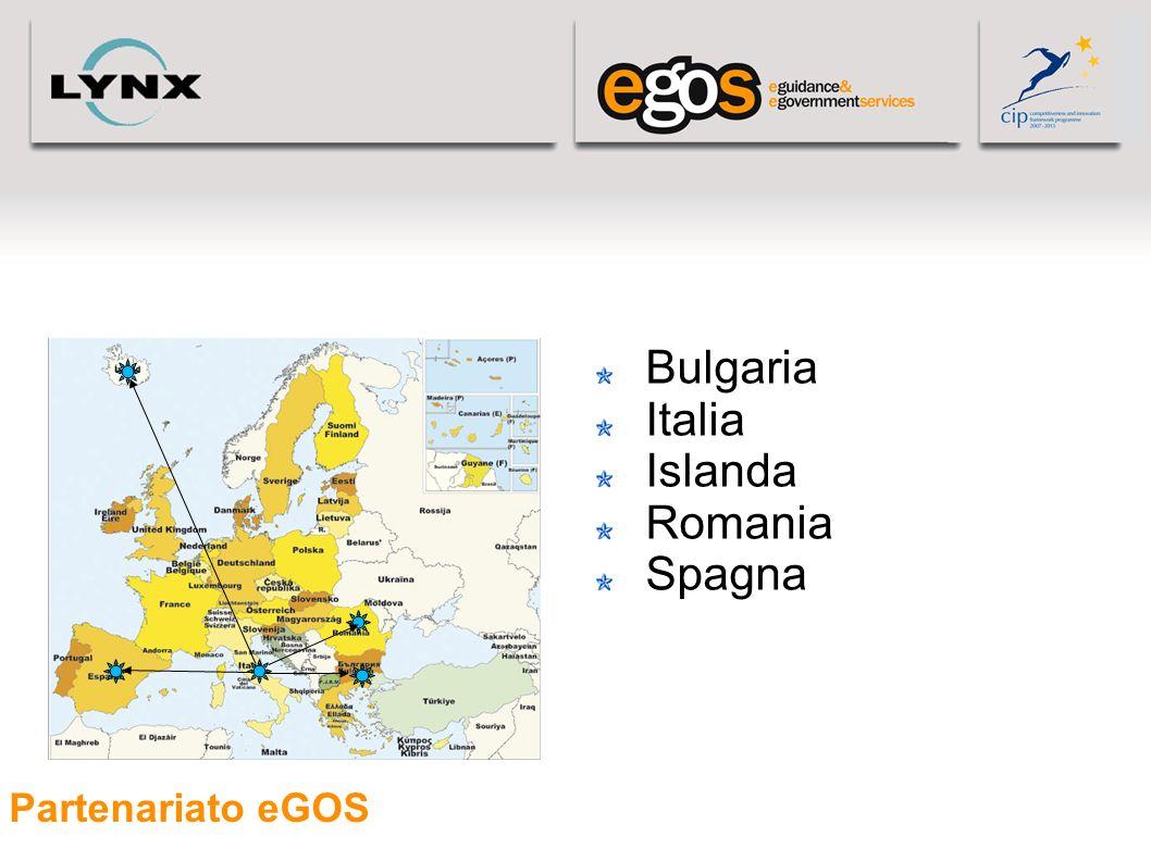 05/05/11 Bulgaria Italia Islanda Romania Spagna Partenariato eGOS