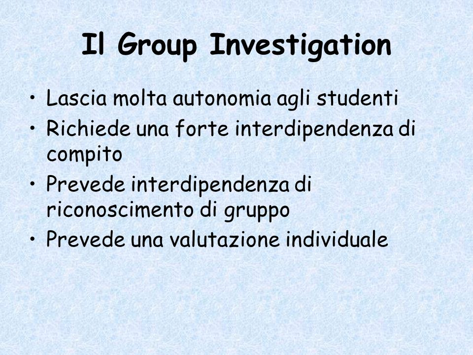 Il Group Investigation