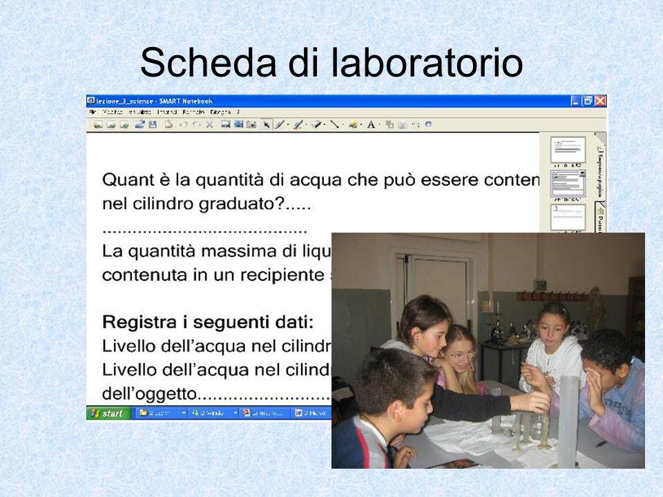 Scheda di laboratorio