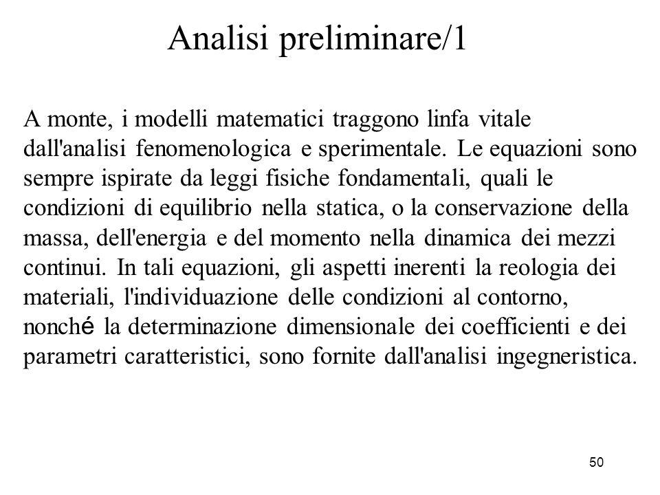 Analisi preliminare/1