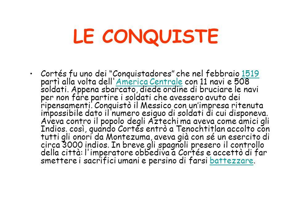 LE CONQUISTE