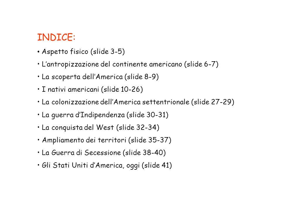 INDICE: Aspetto fisico (slide 3-5)