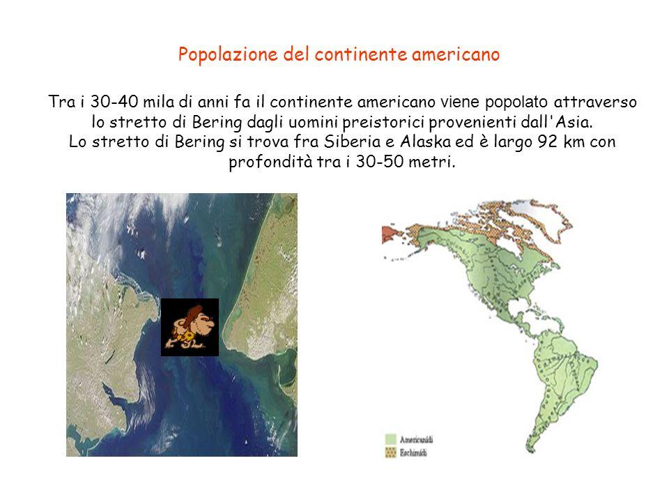 Popolazione del continente americano
