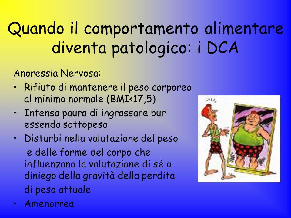 Quando il comportamento alimentare diventa patologico: i DCA