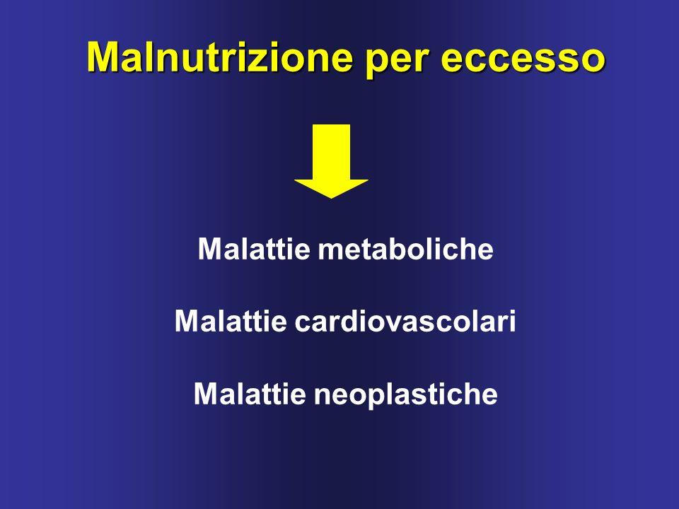 Malnutrizione per eccesso