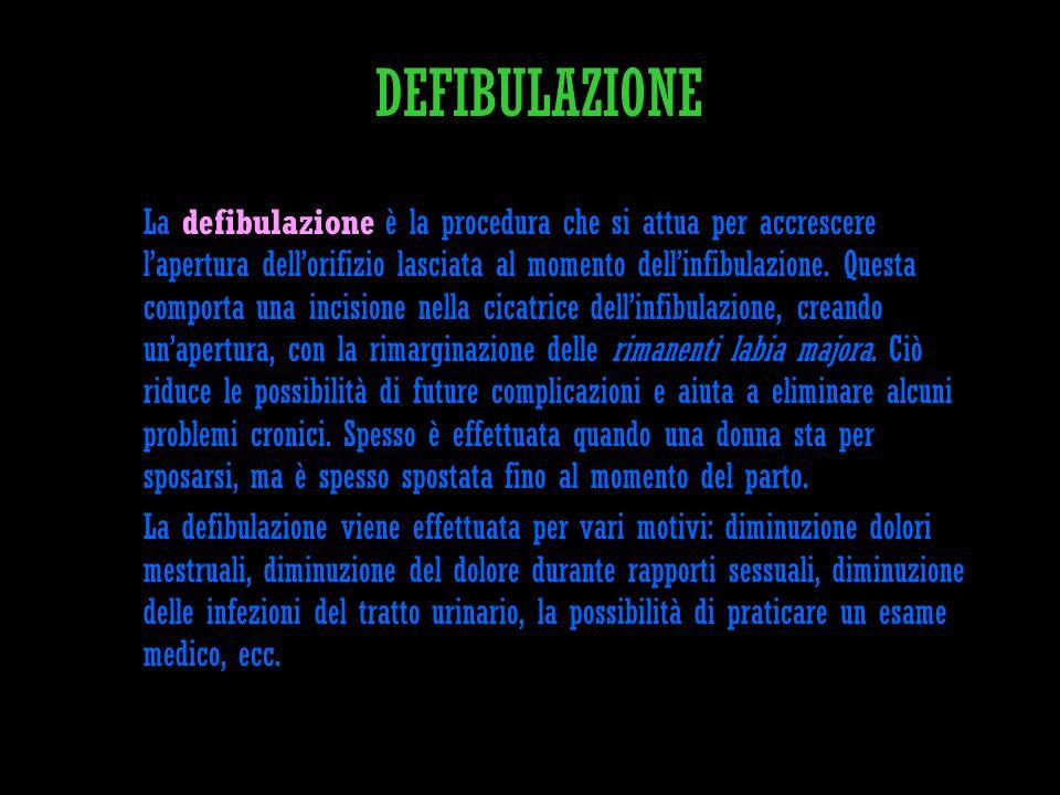 DEFIBULAZIONE