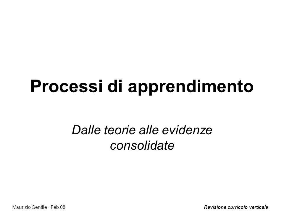 Processi di apprendimento