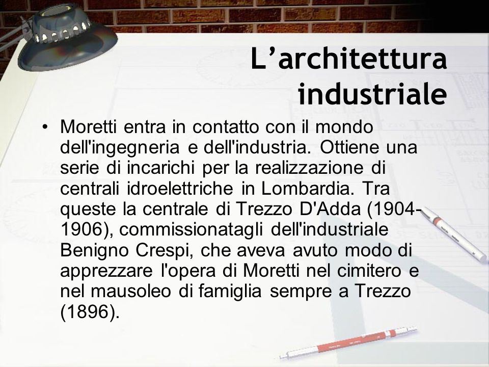 L'architettura industriale