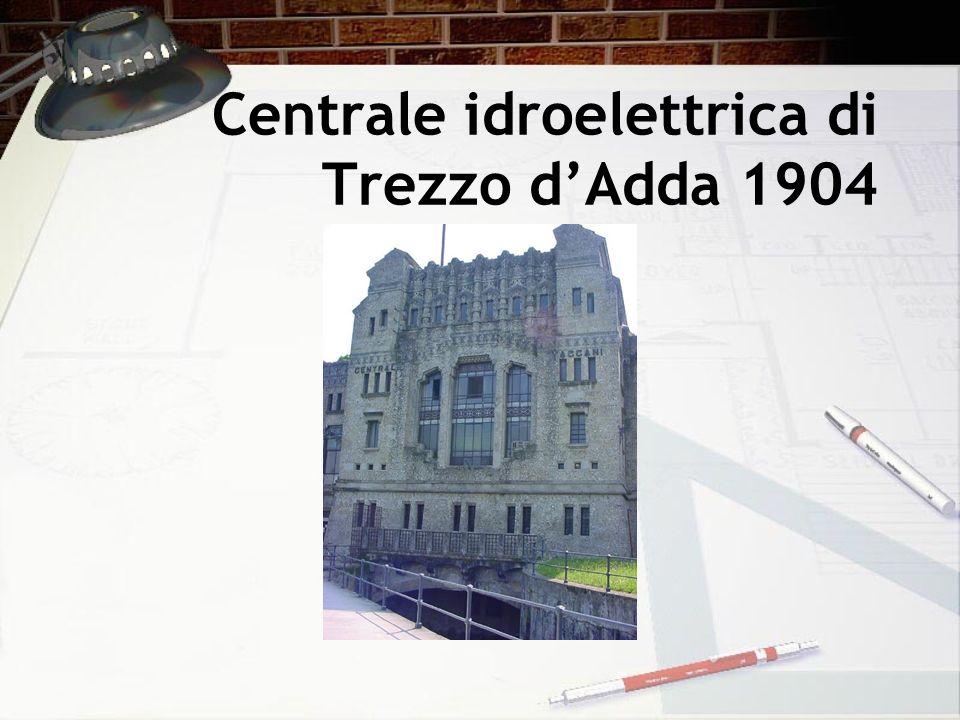 Centrale idroelettrica di Trezzo d'Adda 1904