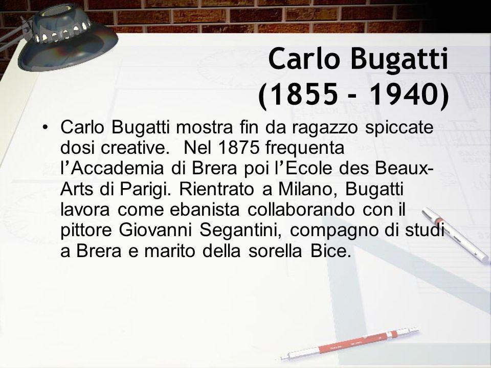 Carlo Bugatti (1855 - 1940)