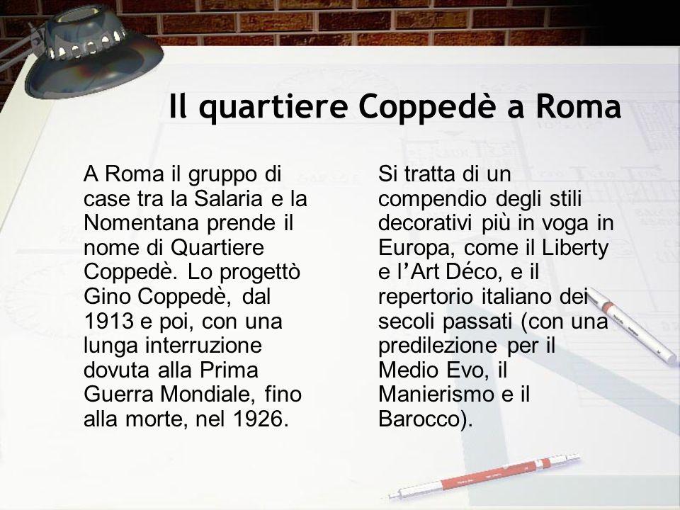 Il quartiere Coppedè a Roma