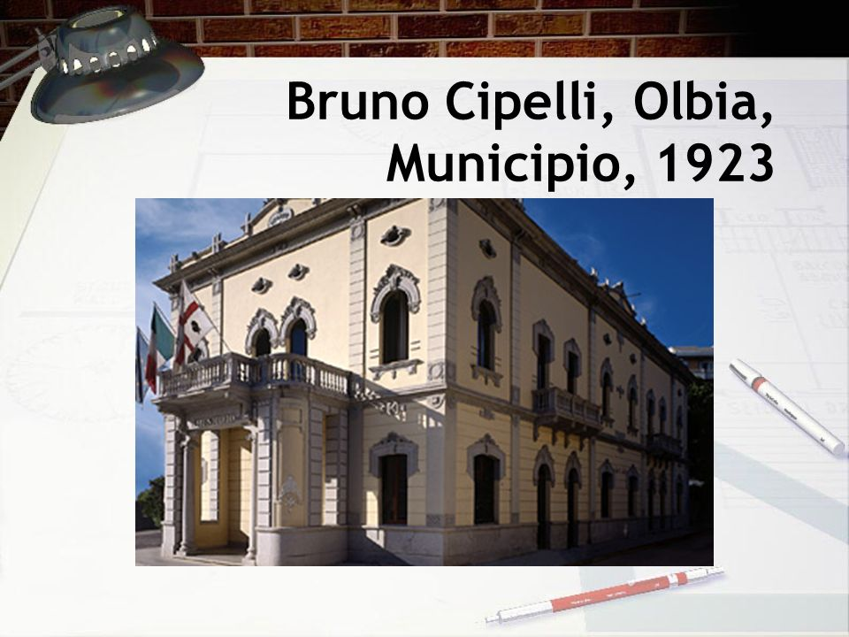 Bruno Cipelli, Olbia, Municipio, 1923