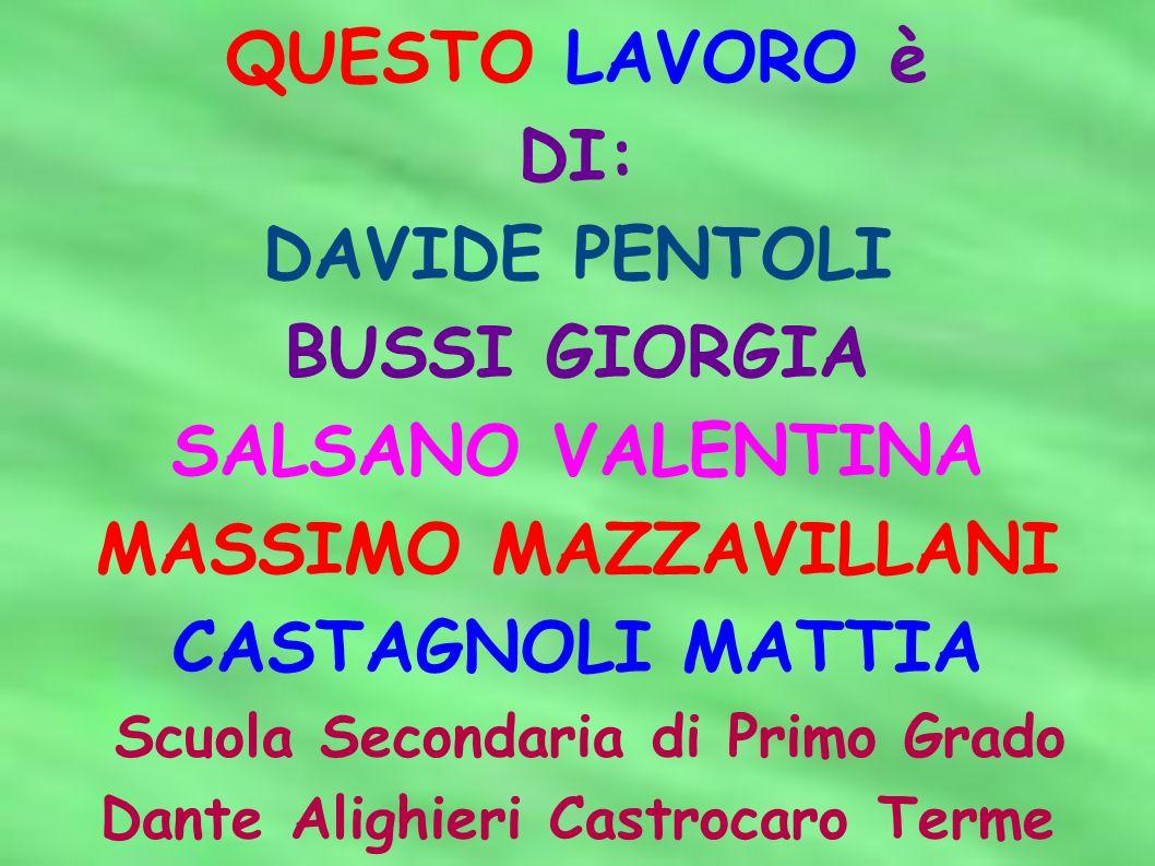 Scuola Secondaria di Primo Grado Dante Alighieri Castrocaro Terme