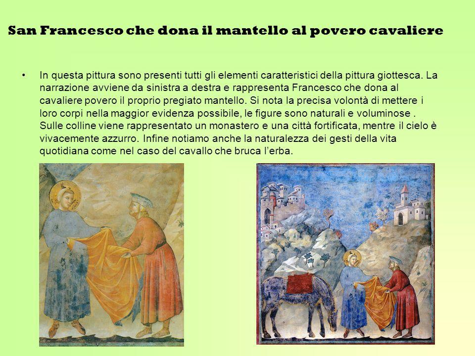 San Francesco che dona il mantello al povero cavaliere