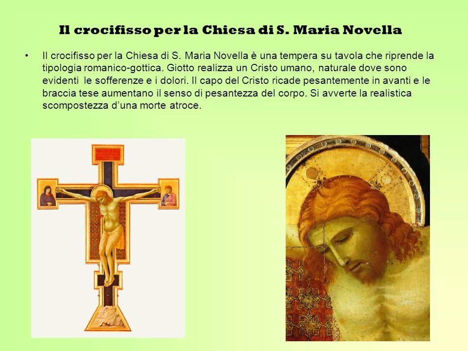 Il crocifisso per la Chiesa di S. Maria Novella
