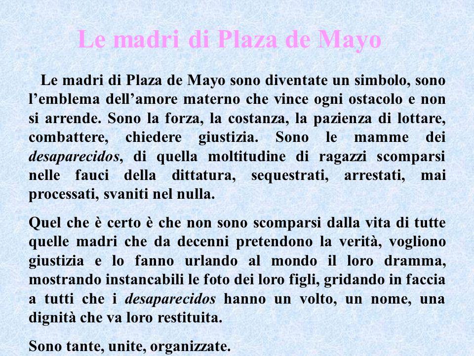 Le madri di Plaza de Mayo