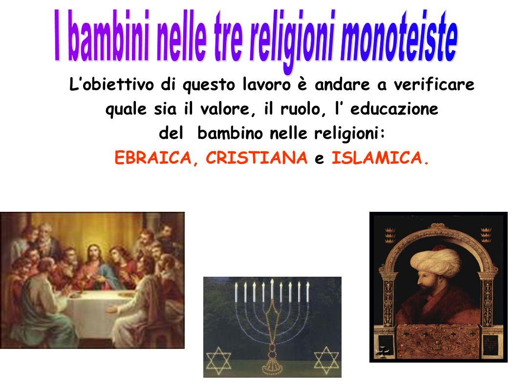 I bambini nelle tre religioni monoteiste