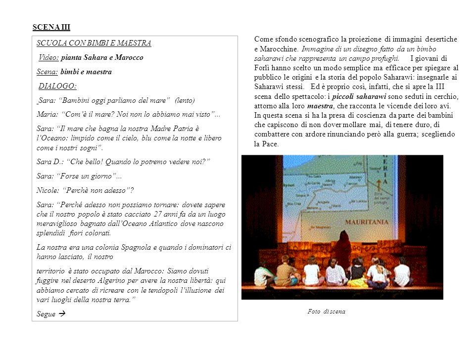 SCUOLA CON BIMBI E MAESTRA Video: pianta Sahara e Marocco