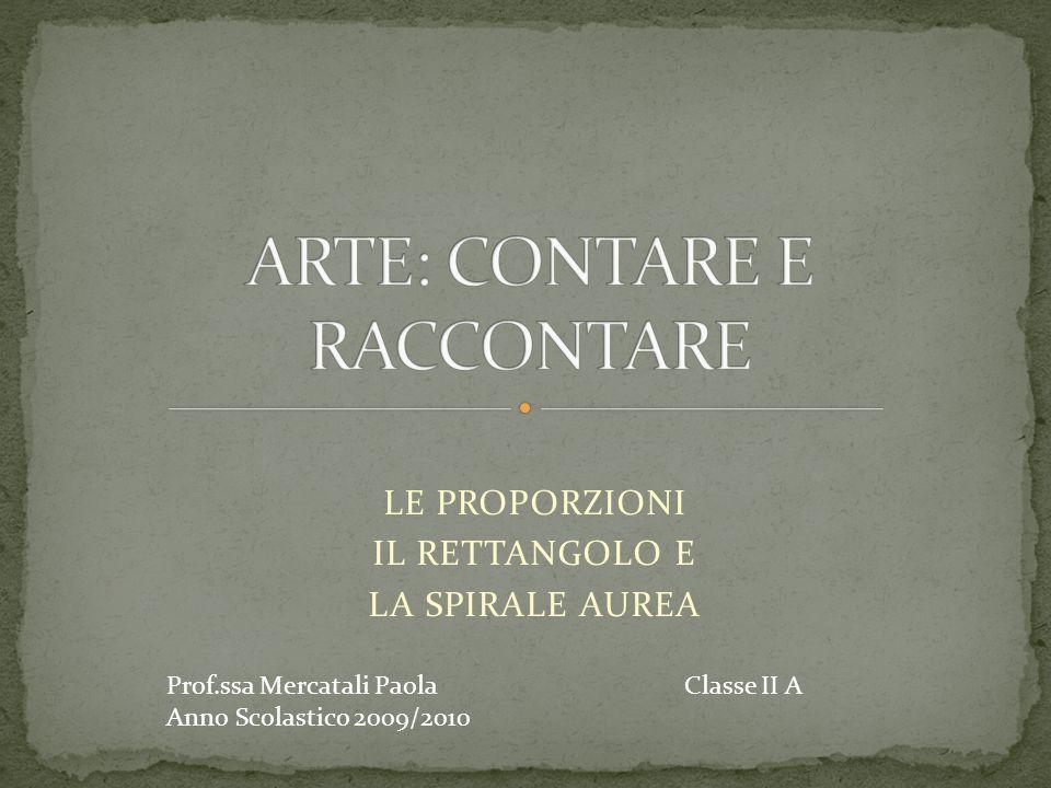 ARTE: CONTARE E RACCONTARE