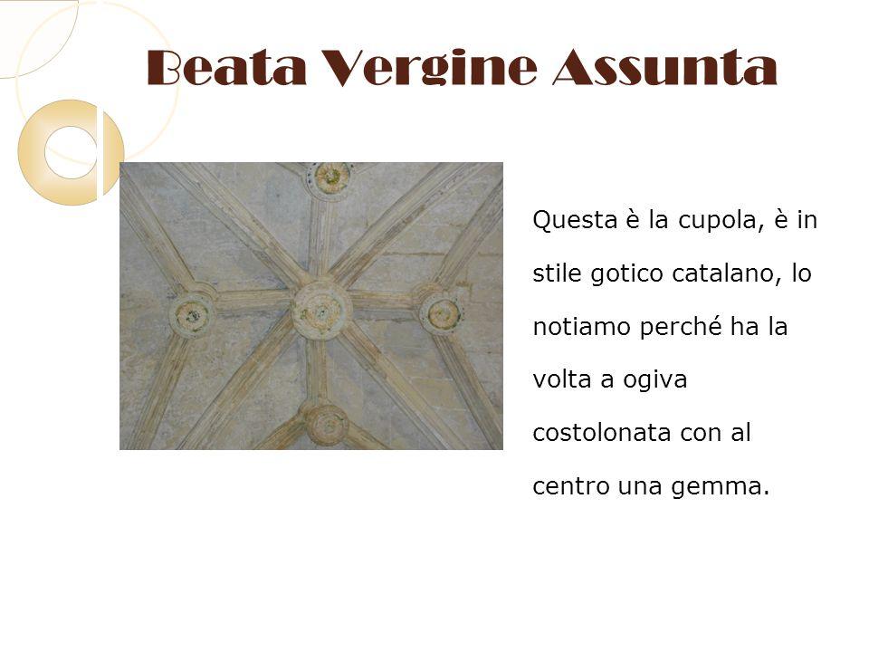 Beata Vergine Assunta Questa è la cupola, è in