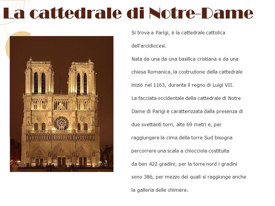 La cattedrale di Notre-Dame